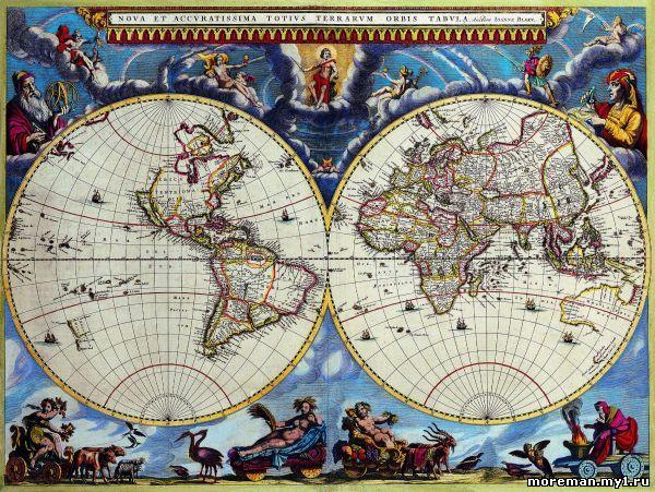 скачать карту мира на русском в высоком разрешении на русском - фото 6